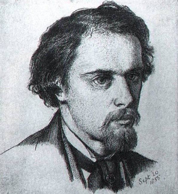 Self portrait, 1855